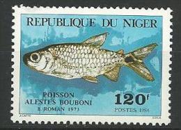 "Niger YT 636 "" Poisson "" 1984 Neuf** - Níger (1960-...)"