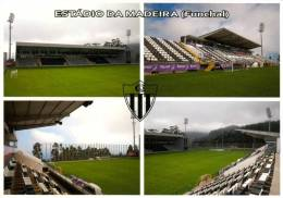 Stadium Postcard Estadio Da Madeira Funchal Nacional Stadion Terrain Sports Ground Stade Sportplatz Portugal - Madeira
