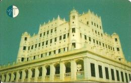 CARTE-PUCE-MAGNETIQUE-AUTELCA CARD-YEMEN-1996-PALAIS-TBE-RARE - Yémen