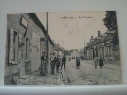 60 MERY - RUE MONSIEUR - 1915 - ANIMATION. COMMERCE. - (EDITION CARLIER) - Frankrijk