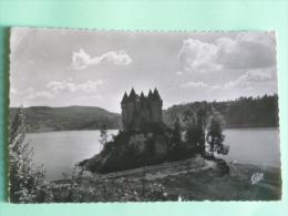 BORT LES ORGUES - Coucher De Soleil Sur Le Chateau De Val - Francia