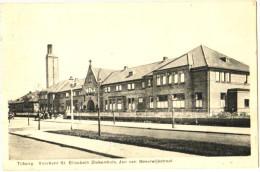 Tilburg - Voorkant St. Elisabeth Ziekenhuis, Jan Van Beverwijkstraat - & Hospital - Tilburg