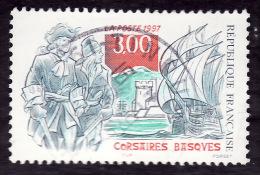 FRANCE  1997 -  Y&T  3103  Corsaires Basques  -  Cachet - Gebraucht