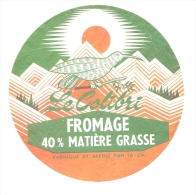 Etiquette Ancienne : Fromage, Le Colibri  Cantal 15 - Fromage