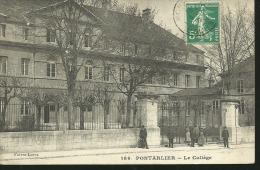 PONTARLIER......le Collège....années 10/20 ???.....14 X 9 - Pontarlier