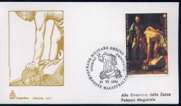 SMOM - 1992 FDC SAN GIOVANNI (2487) - Malte (Ordre De)