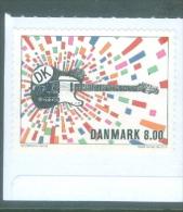 Denmark 2013 -  Rock Guitar, Michel 1744.** - Unused Stamps