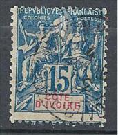 COTE D´IVOIRE N° 6 OBL TTB - Côte-d'Ivoire (1892-1944)