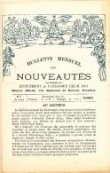MARCHANDS De TIMBRES - Bulletin Mensuel Des Nouveautés - Décembre 1893 - Maison Belin à BRUXELLES  -- 17/330 - Français (jusque 1940)