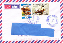 Z] Belle Nice Lettre Burundi Pigeon Oiseau Bird - Altri