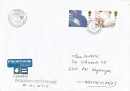France 1998 Ouistreham Port De Caen, Calvados Paquebot UK GB Stamps Cover - Brieven En Documenten