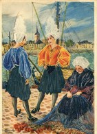 LES SABLES D'OLONNE   Costumes Sablais En Parcourant Le Poitou - Trachten