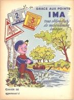 Protége Cahier Illustré Thème Collection Points IMA - Buvards, Protège-cahiers Illustrés