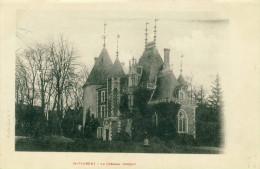 Saint-Florent  Le  Château (donjon)     Cpa - Saint-Florent-sur-Cher
