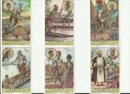 Peuplades Du Congo Belge N°13 à 18 - Liebig