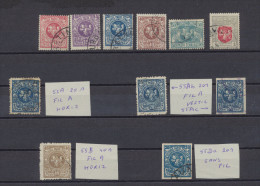 Lituanie - Lithuania - Lietuva 1919 - 1920 Lot De Timbres Oblit - Lithuania