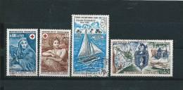 France Timbre De  1969/70  N°1619  A  1622  Oblitéré - France