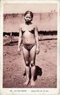 VIETNAM, ANNAM, LA NUI - BARA, Jeune Fille De 18 Ans, Originalkarte Ca.1930 - Asians