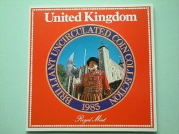 UNITED KINGDOM / UNC Coin Collection - 1985 ( For Grade, Please See Photo ) ! - Grossbritannien