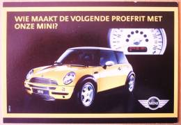 Carte Postale Automobile Publicitaire MINI BMW - Turismo