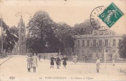 22534 VITRY SUR SEINE Chateau Eglise -ELD 24 - Enfant Fille - Vitry Sur Seine