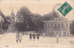 22534 VITRY SUR SEINE Chateau Eglise -ELD 24 - Enfant Fille