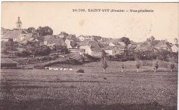 22536 SAINT VIT. 2 CP Vue Générale  20.739 Ed ? - France