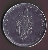 VATICAN 100 LIRE 1976 - Vaticano (Ciudad Del)
