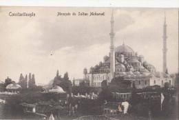 C1920 CONSTANTINOPOLE - MOSQUEE DU SULTAN MOHAMED - Turquie