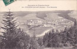 22544 Villers Le Lac Vue Generale  -excursion France Comté -12 Teulet Besancon - - Non Classés