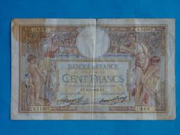 100  FRANCS  LUC  OLIVIER  MERSON  FT. 6- 8-1936. FT - N° A.51967 - 469 - 1871-1952 Anciens Francs Circulés Au XXème