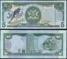 Trinidad & Tobago P 47 - 5 Dollars 2006 - UNC - Trindad & Tobago
