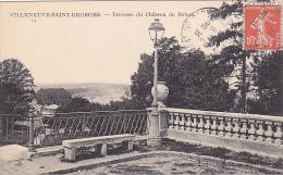 22548 VILLENEUVE Saint Georges - Terrasse Du Château De Balzac -14 Ed Delhomme