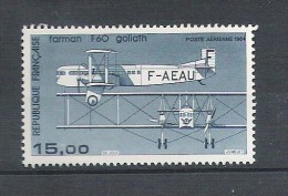 Poste Aérienne N° 57b ** - Avion Bimoteur Farman F 60 Goliath - 1960-.... Nuevos