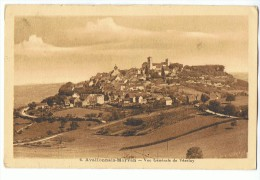 Avallonnais-Morvan - Vue Générale De Vézelay - N° 6 Edit. H. Couron, Avallon - Vezelay