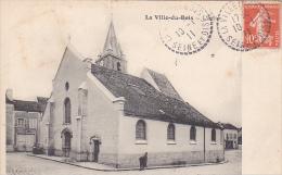 22555  LA VILLE DU BOIS - L'église  -ed Vallée 427 -