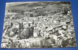 EN AVION AU DESSUS DE ....LE MALZIEU VILLE (Lozere) Vue Generale - France