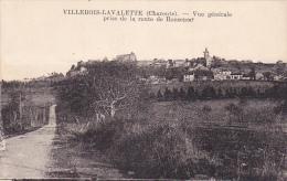 22556 Villebois Lavalette Vue Generale Prise De La Route De  Ronserac - Ed ??