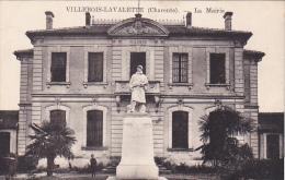 22557 Villebois Lavalette La Mairie- Ed ?? Monument Aux Morts Guerre 1914 1918