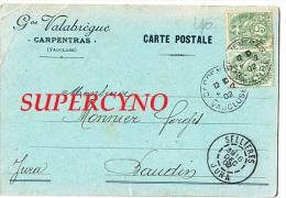 84 VAUCLUSE SSN° CARPENTRAS  GVE VALABREGUE - Carpentras