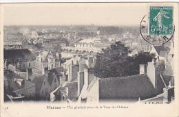 22560 VIERZON - VUE GÉNÉRALE PRISE DE LA TOUR Du Chateau -B.F. Paris -36 -