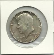 United States Of America - Half A Dollar 1967 Silver - 1964-…: Kennedy