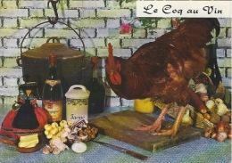 CPSM Recette  : Le Coq Au Vin - Recipes (cooking)