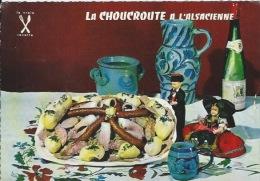 CPSM Recette  : La Choucroute à L'alsacienne - Recipes (cooking)