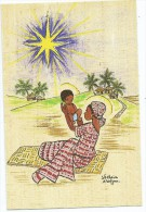Afrique > Côte-d´Ivoire D´après Dessin Illustration Monastère Sainte Ste Claire D´ABIDJAN (RELIGION)*PRIX FIXE - Côte-d'Ivoire