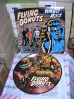 FLYING DONUTS - Renewed Attack - LP - PICTURE DISC - Avec POCHETTE - POP PUNK - Punk