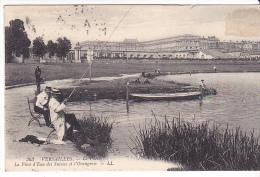 22576 VERSAILLES - Parc Piece Eau Suisses Orangerie LL 363 -peche Pecheur Canne Barque - Versailles