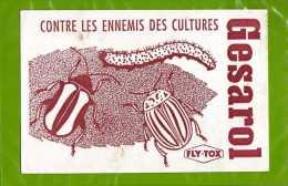 BUVARD Contre Les Ennemis Des Cultures GESAROL  Fly Tox - Agriculture