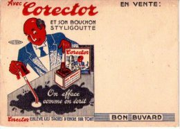 BUVARD-  Corector - Buvards, Protège-cahiers Illustrés
