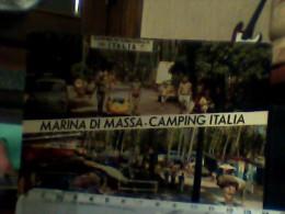 MARINA DI MASSA CAMPING ITALIA  AUTO CAR FIAT 600  VEDUTE   VB1972 EJ4406 - Massa